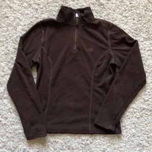 North Face brown long sleeve brown szXS